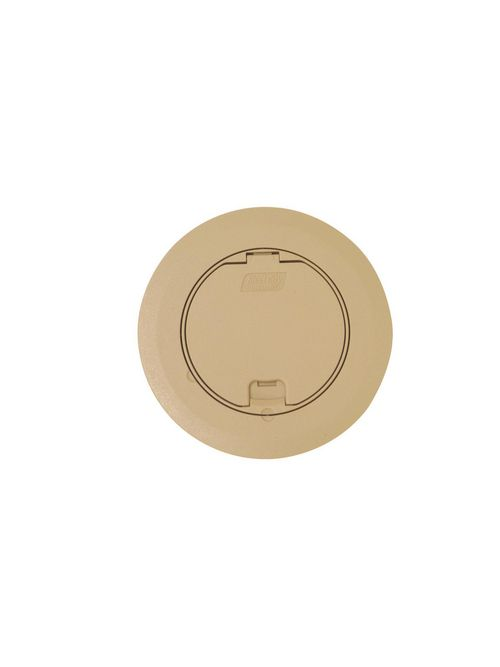 Steel City 68R-CST-BGE Beige Round Recessed Cover