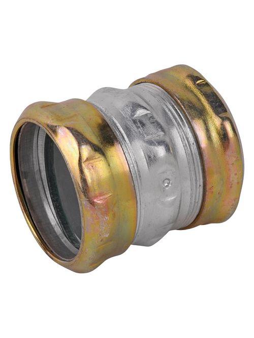 "Steel City TK116A-RT 2"" EMT Compression Coupling - Steel - Raintight"