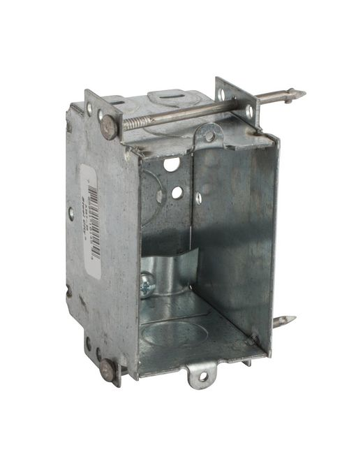 Steel City A257-25 Non-Gangable 3 x 2 x 2-1/2 Inch Dimensions 12.5 In Steel Switch Box with Clamp