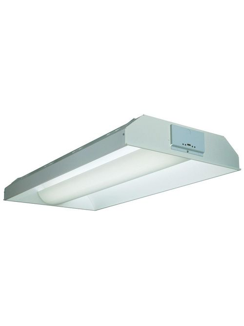 Lithonia Lighting 2AV G 3 32 MDR MVOLT 1/3 GEB10IS 3-Lamp 32 W 120 to 277 Volt T8 Fluorescent Light Fixture