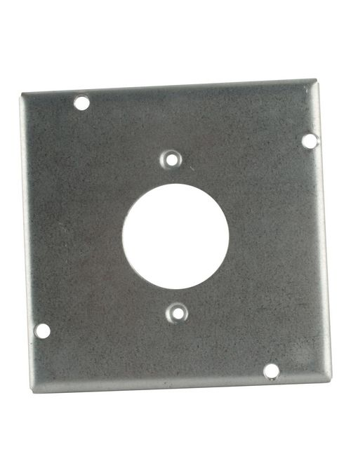 Steel City RSL-4 4-11/16 Square Twist Lock Receptacle Steel Cover