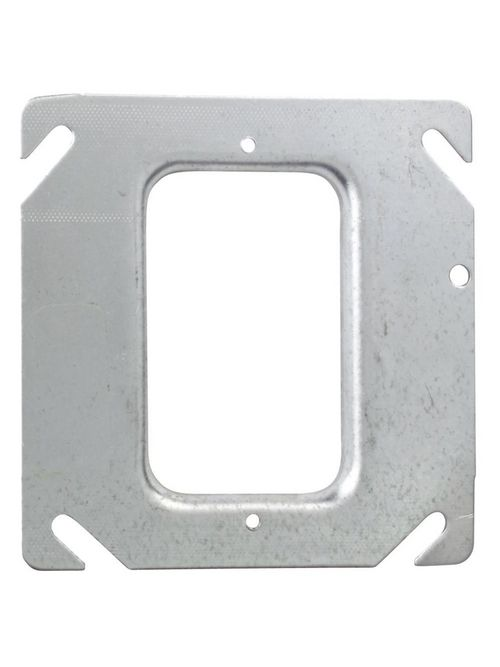 Steel City 52-C-37 2-Gang 1/8 Deep Steel Cover