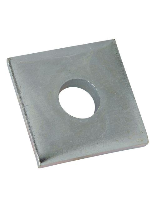 Kindorf H-119-A 1-1/2 x 1-1/2 x 1/8 Inch Galv Krom Steel Square Washer