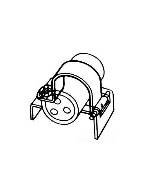 Kindorf J-800-32 32 Inch 18 Gauge Galv Krom Steel Interlocking Strap