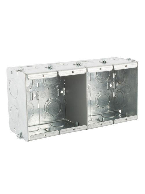 Steel City GW-425-G 4-Gang 2-1/2 Deep Steel Box