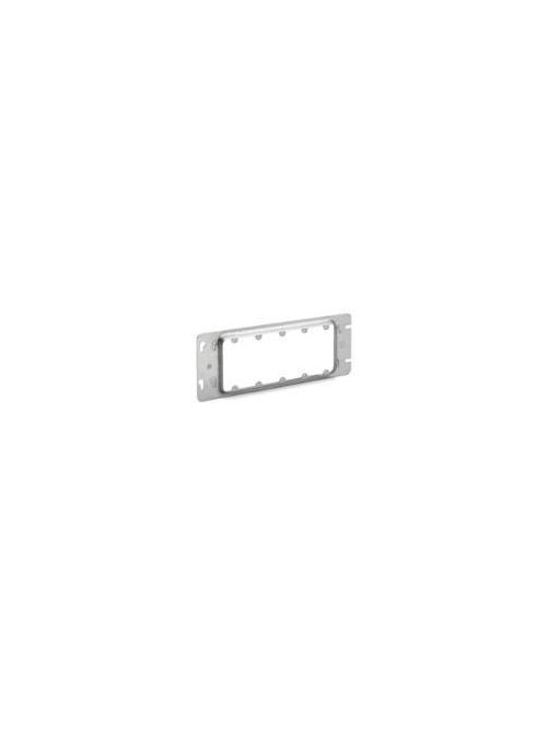 Crouse-Hinds Series TP661 12-7/16 Inch 13/16 Inch Raised Steel 5-Gang Box Cover