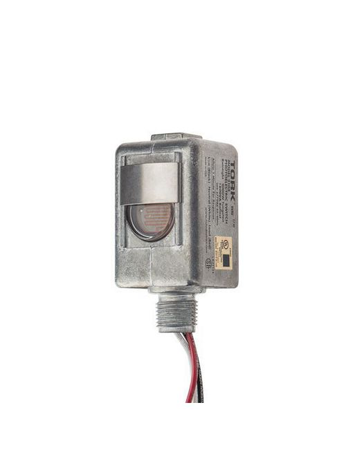 Tork 2104 208/277 VAC 2000 W Tungsten SPST Thermal Lighting Photocontrol