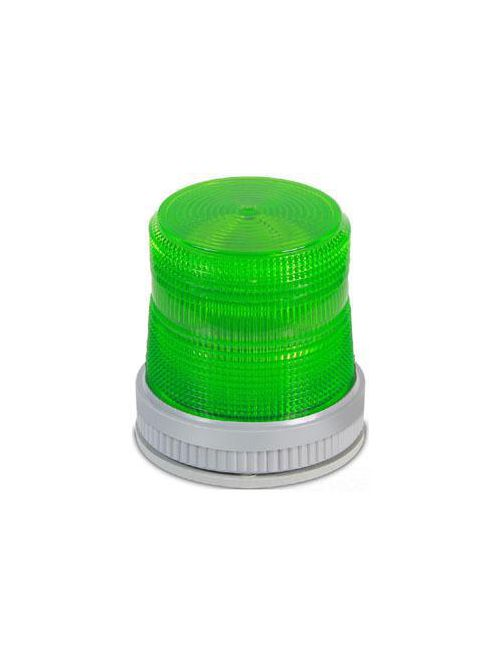 Edwards Signaling 105XBRMG120A 120 VAC 0.108 Amp Green Polycarbonate Flashing or Steady-On LED Multi-Mode Beacon