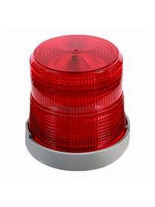 Edwards Signaling 48XBRMR120A 120 VAC 0.108 Amp Red Polycarbonate Flashing or Steady-On LED Multi-Mode Beacon