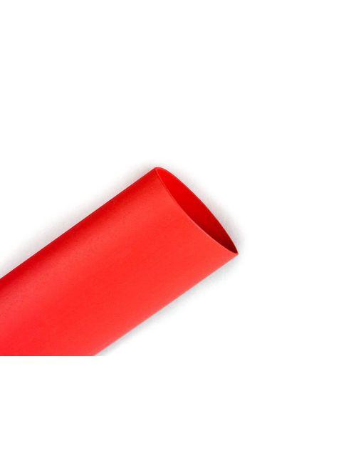 3M FP-301-1/2-Red-100' Heat Shrink Thin Wall Shrink Tubing