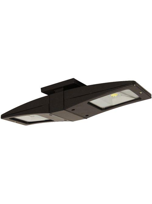 RAB CLED2X13 13 W 2-Lamp 120 to 277 Volt 2069 Lumen 5000 K Bronze LED Ceiling Light Fixture