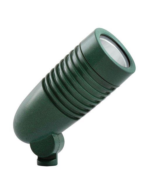 RAB LFLED5VG 5 W 120/208/240 Volt 2-3/8 x 6 Inch Cool Verde Green Die-Cast Aluminum LED Floodlight Fixture