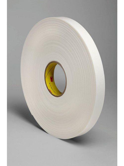 "3M Industrial Safety 4466W-1""x36yd 1/16 Inch Double Coated Polyethylene Foam Tape"