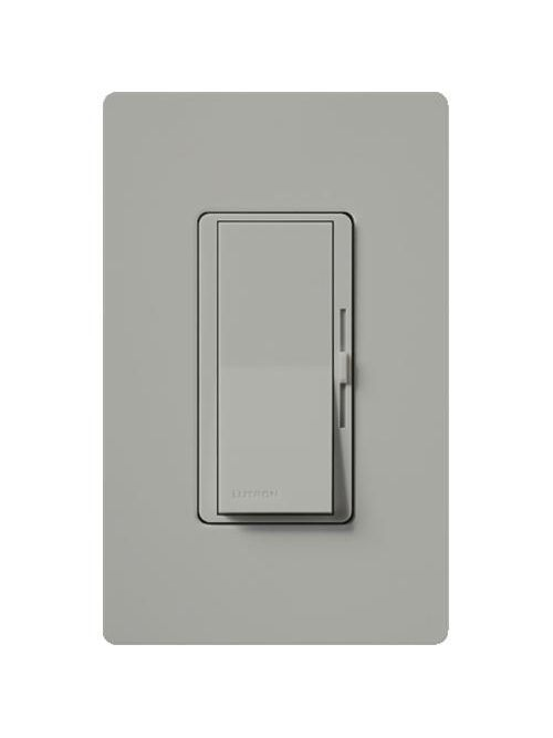 Lutron Electronics DVCL-153P-GR 150 W 120 Volt Gray Dimmable 1-Pole/3-Way Compact Fluorescent/LED Wall Dimmer