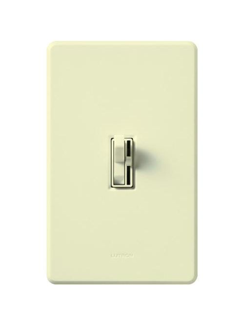 Lutron Electronics AY-603P-AL 600 W 120 Volt Almond 1-Pole/3-Way Incandescent/Halogen Preset Dimmer
