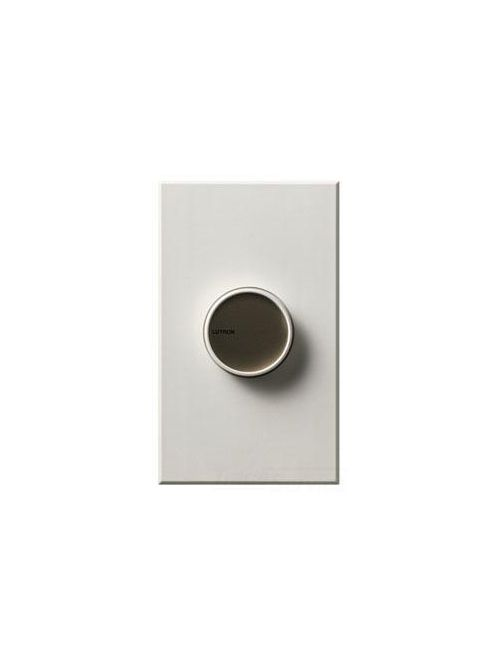 Lutron Electronics C-103P-WH 1000 W 120 Volt White 3-Way Incandescent/Halogen Rotary Dimmer