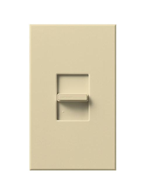 Lutron Electronics NF-103P-IV 16 Amp 120 VAC Ivory 1-Pole/3-Wire/3-Way Fluorescent Preset Dimmer