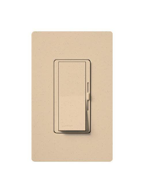 Lutron Electronics DVSC-603P-DS 600 W 120 Volt Desert Stone 3-Way Incandescent/Halogen Paddle Switch Preset Dimmer