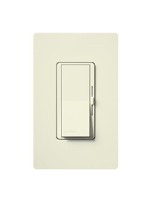 Lutron Electronics DVSCELV-300P-BI 300 W 120 Volt Biscuit 1-Pole Electronic Low Voltage Paddle Switch Preset Dimmer
