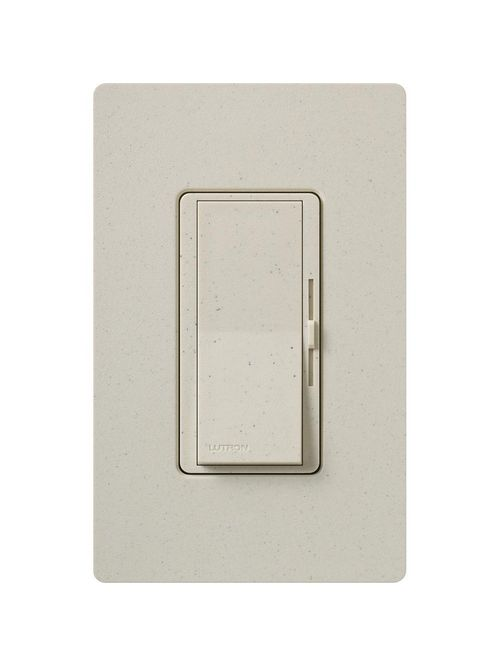 Lutron Electronics DVSCLV-603P-LS 450 W 120 Volt Limestone 3-Way Magnetic Low Voltage Paddle Switch Preset Dimmer