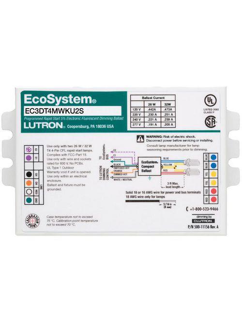 LUT EC3DT418KU1S ECOSYS BST-3W/ECO