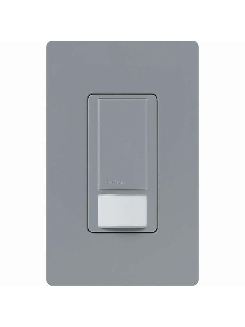 Lutron Electronics MS-OPS2-GR Maestro 250 watt Gray 1-Pole Occupancy Sensor Switch