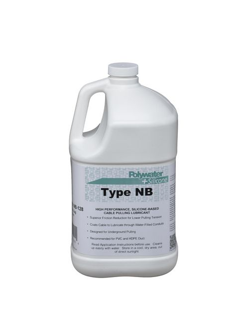 American Polywater NB-128 1 Gallon Jug 7.5 to 9 pH Cream Cable Pulling Lubricant