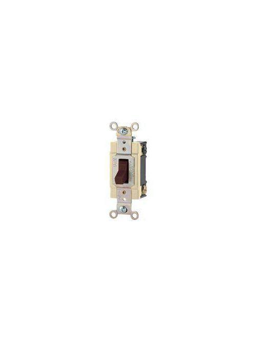 Arrow Hart Wiring CSB320LA 120/277 Volt 20 Amp 3-Way Light Almond Toggle Switch