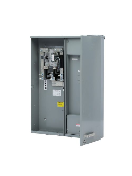 Siemens Industry MC0816B1400SDL 120/240 VAC 320 Amp 1-Phase 3-Wire Ringless Combination Meter Load Center
