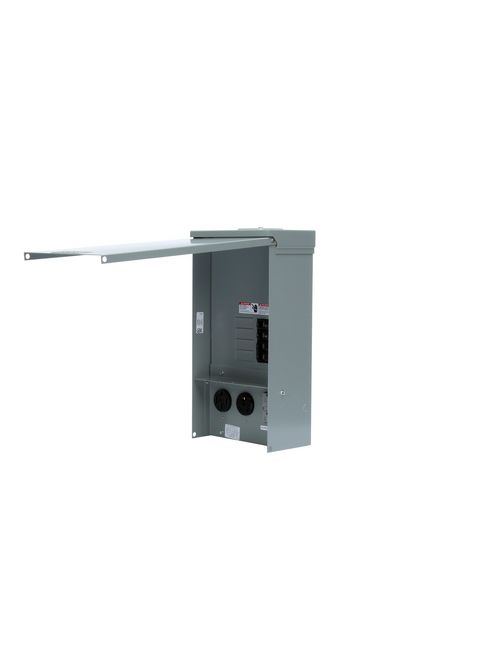 Siemens Industry TL137US 125 Volt 125 Amp Galvanized Steel Power Outlet Panel