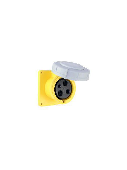 Arrow Hart Wiring AH560R9W 60 Amp 120/208 VAC 4-Pole 5-Wire Blue Watertight Pin and Sleeve Receptacle