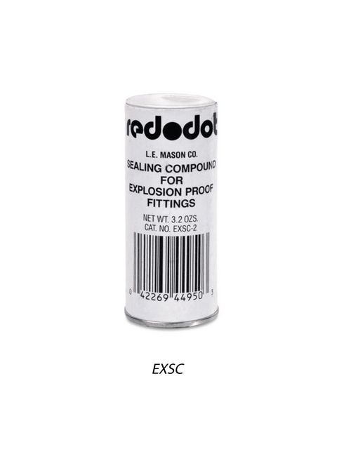 Red-Dot EXSC-2 3.2oz Sealing Cement, for Thomas & Betts EYV, EVH Series Hazardous Location Fittings