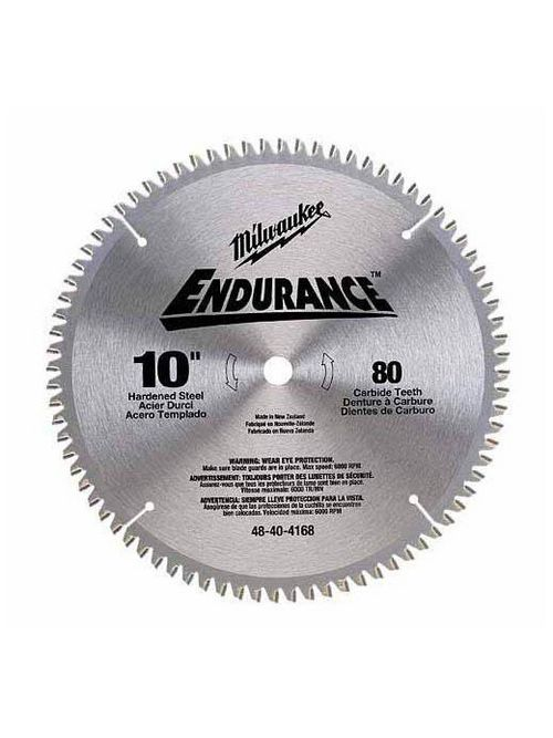 "Milwaukee 48-40-4160 10"" 24 Carbide Teeth Circular Saw Blade"