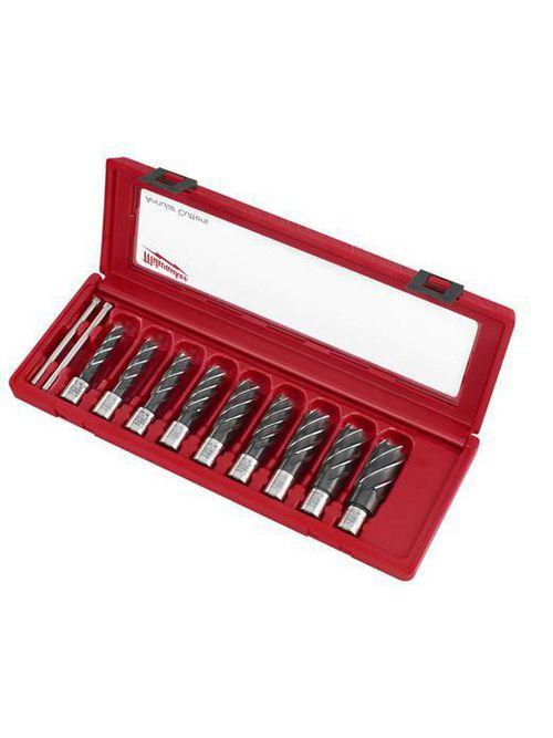 Milwaukee 49-22-8410 9-Piece HSS Annular Cutter Set