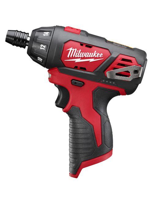 "Milwaukee 2401-20 M12™ 1/4"" Hex Screwdriver (Bare Tool)"