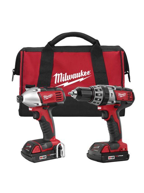 Milwaukee 2697-22CT M18™ Cordless Lithium-Ion 2-Tool Combo Kit