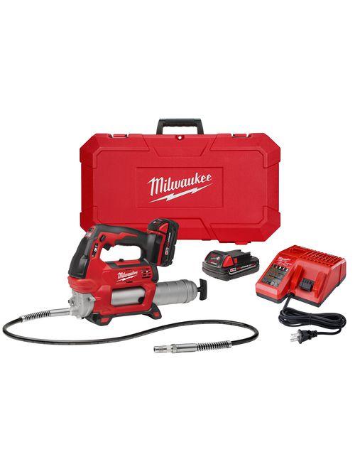 Milwaukee 2646-22CT M18™ 2-Speed Grease Gun 2CT Kit