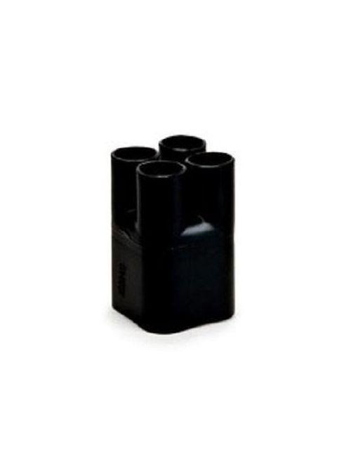 Tyco Electronics CBR-4-4-A (B3) 1 kV 4-Leg Black Polyolefin Heat Shrink Cable Breakout Boot