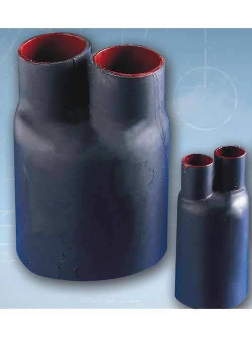 Tyco Electronics CBR-4-2-A (B3) 1 kV 4-Leg Black Polyolefin Heat Shrink Cable Breakout Boot