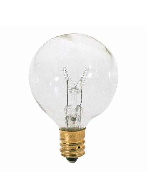 SATCO S3847 40W G12 1/2 CAND CLEAR