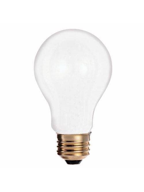 SATCO S3950 25 W 130 Volt 185 Lumen Frosted E26 Medium Base A19 Household Incandescent Lamp