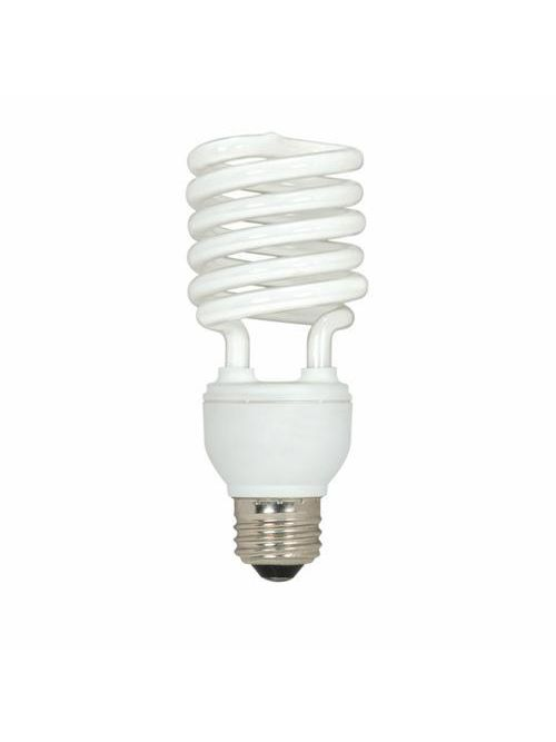 SATCO S6275 23 W 120 Volt 82 CRI 4100 K 1600 Lumen E26 Medium Base T2 Mini Spiral Compact Fluorescent Lamp