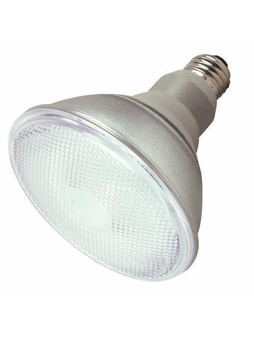 SATCO S7202 23 W 120 Volt 82 CRI 4100 K 1100 Lumen E26 Medium Base PAR38 Compact Fluorescent Lamp