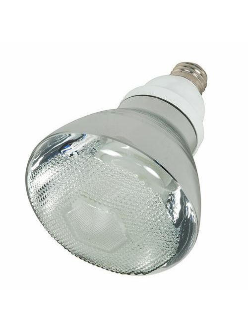 Satco S7274 23 watt 2700 K 82 CRI BR38 Medium Base Compact Fluorescent Lamp