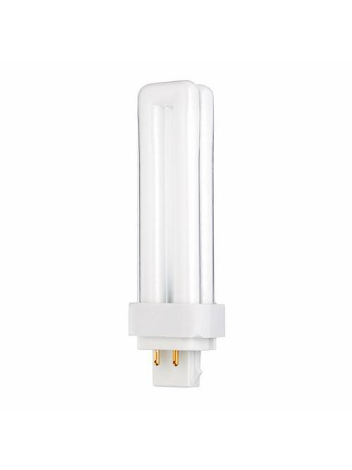 Satco S8331 13 watt 3500 K 82 CRI G24Q-1 Base Pin-Based Compact Fluorescent Lamp
