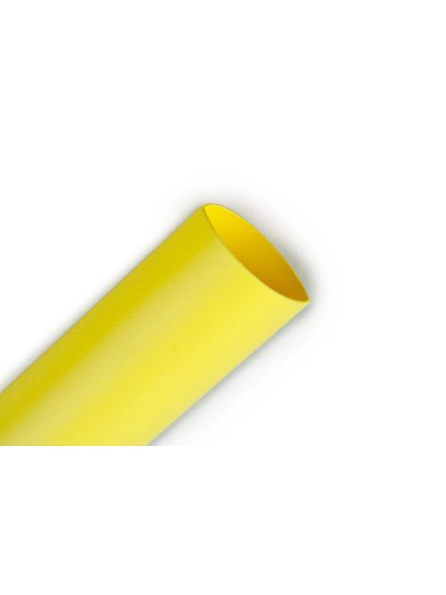 3M FP301-1/2-100'-Yellow-Spool Heat