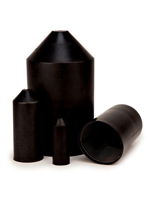 3M SKE-8/20 50/Case 0.31 to 0.43 Inch Black Heat Shrink Heavy Duty End Cap