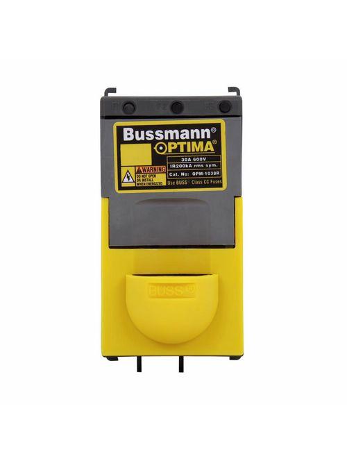 Bussmann Series OPM-1038C 30 Amp 600 VAC/VDC Non-Rejection Fuse Holder