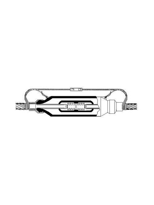 3M 5407-CI-500 Molded Rubber 15 kV Inline Splice Kits