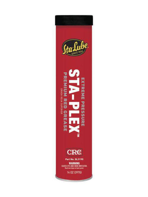 CRC Industries SL3190 14 oz Cartridge Premium Red Grease